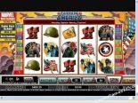 δωρεάν φρουτάκια Captain America CryptoLogic